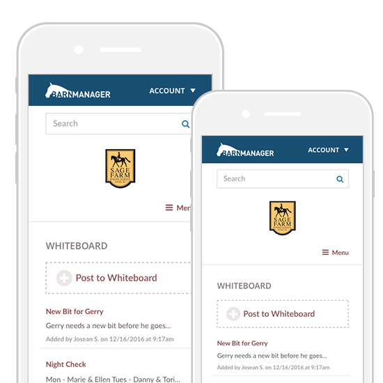Barn Management Software and Mobile App – BarnManager