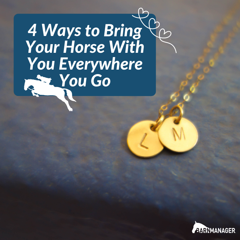 4 Ways to Bring Your Horse with You Everywhere You Go