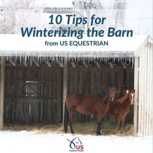 Winterizing the Barn